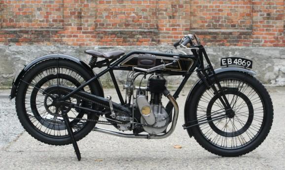 Sunbeam 1924 500cc Model 6 Long-Stroke