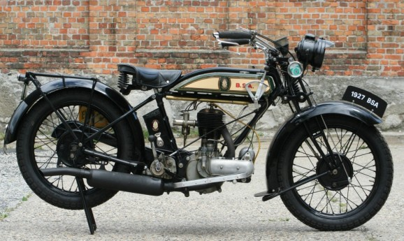 BSA 1927 500cc colonial model