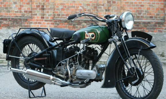 BSA G13 1933 1000cc V-twin