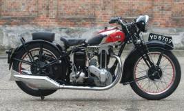 Ariel VG 500cc OHV 1934