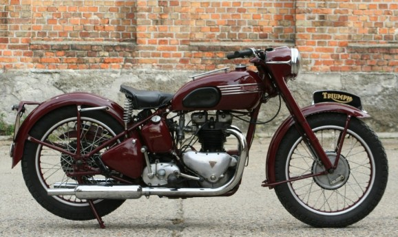 Triumph 5T Speed Twin