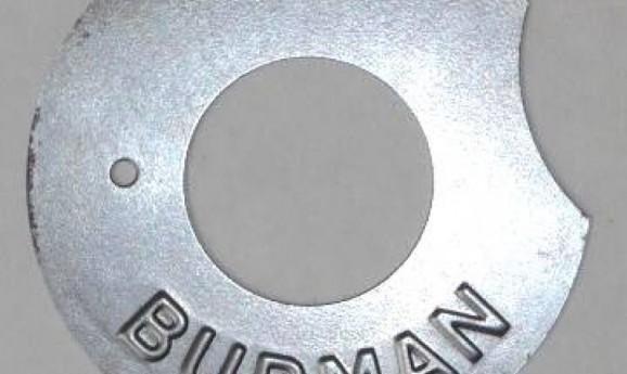 Burman sebváltó fedél 91mm